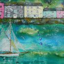 Passing by Dittisham (sold)