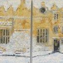 Snowy Quad, Oxford (sold)