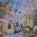 Bikes and Blossom, Oxford (sold)