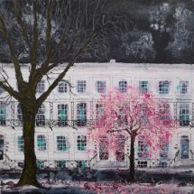 Night Blossom by the Town Hall (sold)