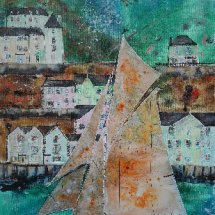 Yacht Returning (sold)