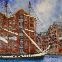 Gloucester Docks I (commission)