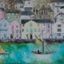 Taking Down the Sails Dartmouth (sold)