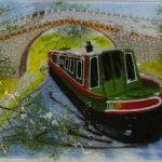 Peronalised Narrowboat Wall Panel
