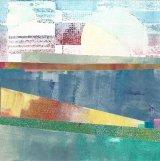 Aquamarine collage