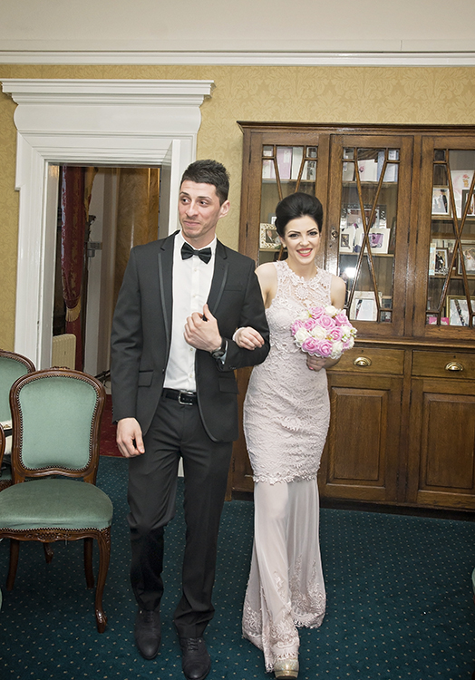 The Bride & Groom at Chadderton Town Hall
