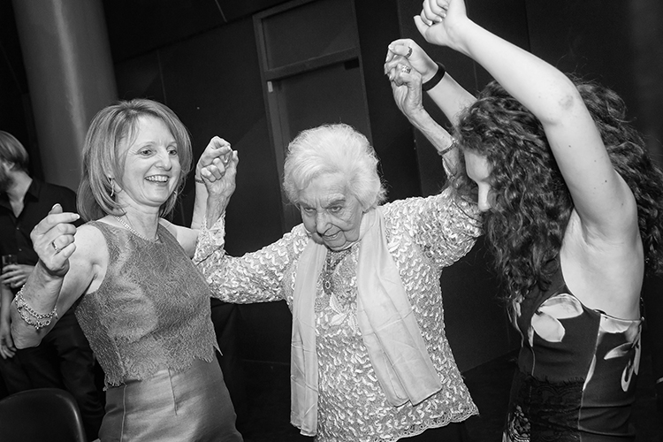 Dancing with Grandma, Bar Mitzvah in Manchester