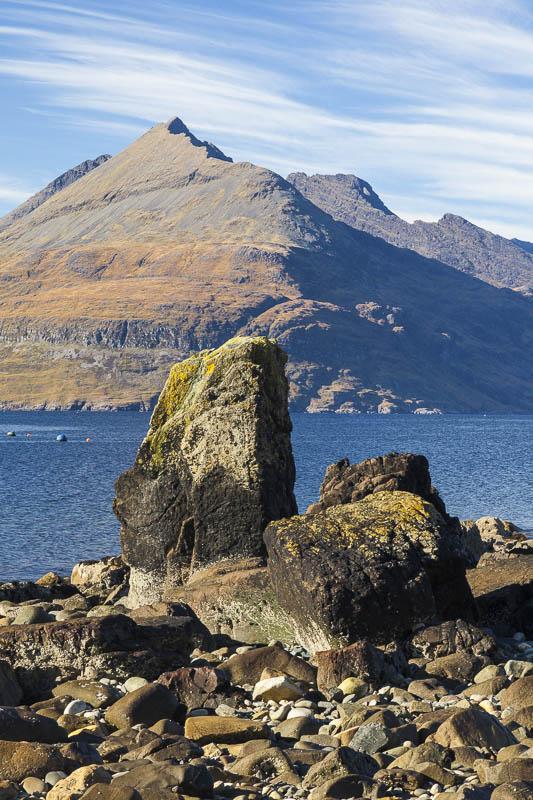KW-SH-17-27 Cuillin Hills across Loch Scavaig from Elgol Isle of Skye