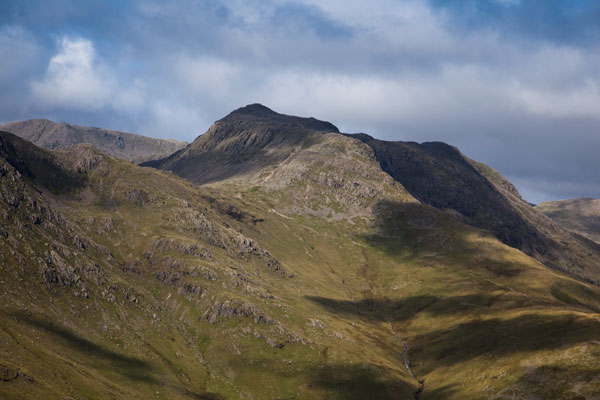 Bowfell from Pike o' Blisco