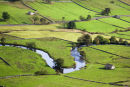 The Wharfe meanders along Wharfedale