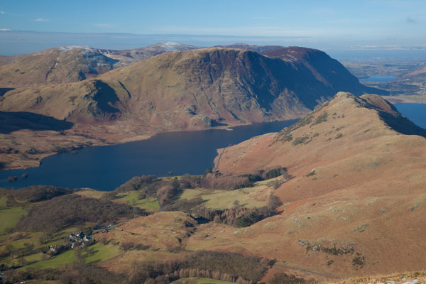 Rannerdale Knotts, Mellbreak and Crummock Water