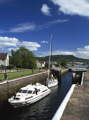 Caledonian Canal, Muirtown Basin, Inverness