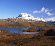 Slioch across Loch Maree