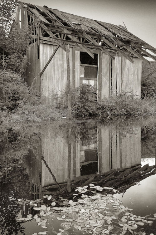 Canal shed
