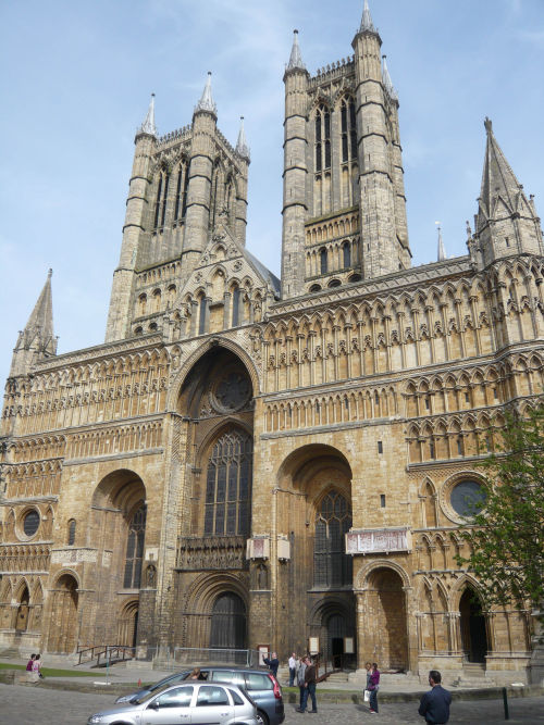 Lincoln Cathedral: West Front