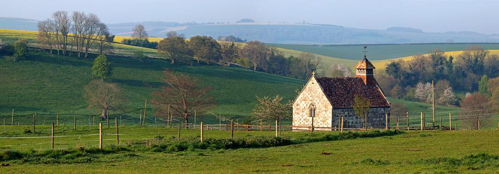 Fifield-Bavant-Church-in-Spring