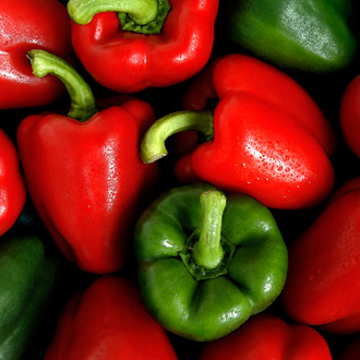 Mixed Peppers square