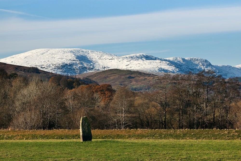Standing Stone of Dalarran and the Rhinns of Kells