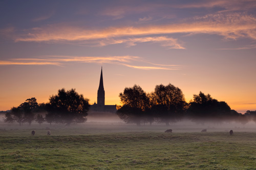 September dawn Harnham Meadows