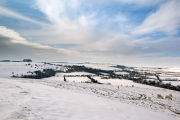 Winter on Marleycombe Hill