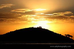 Amboseli viewing point hill