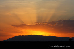 Tsavo Sunset