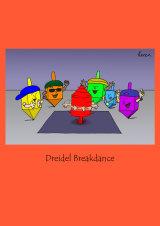 Dreidel Breakdance