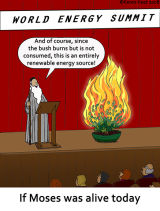 Moses' Green Deal
