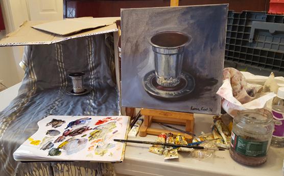 'My Cup Overflows' setup