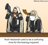 Rosh Hashannah for the Hearing Impaired