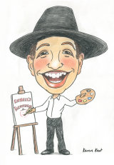 Bar mitzvah Caricature