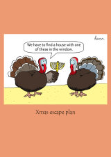 Xmas turkeys