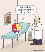 Dizzy Dreidel
