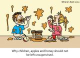 Children, Apples, Honey