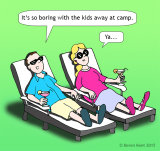 kids at camp