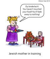 Jewish Mother in Training