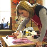 Working_in_the_studio_during_the_Jonathan_Vickers_Fine_Art_Award_residency