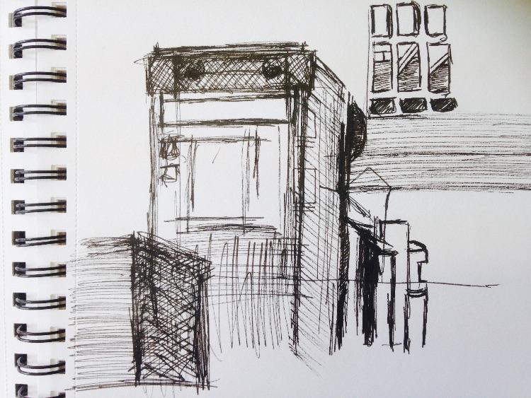 public sketching