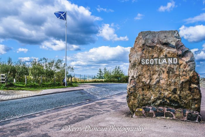 Crossing The Border - Scotland