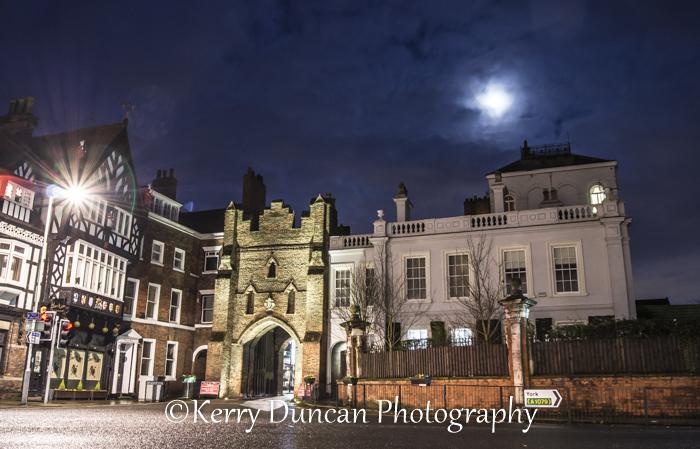 Moon Over The Bar