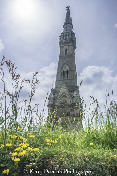 Monument In Flower