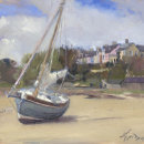 Beached Sail Boat, Alnmouth