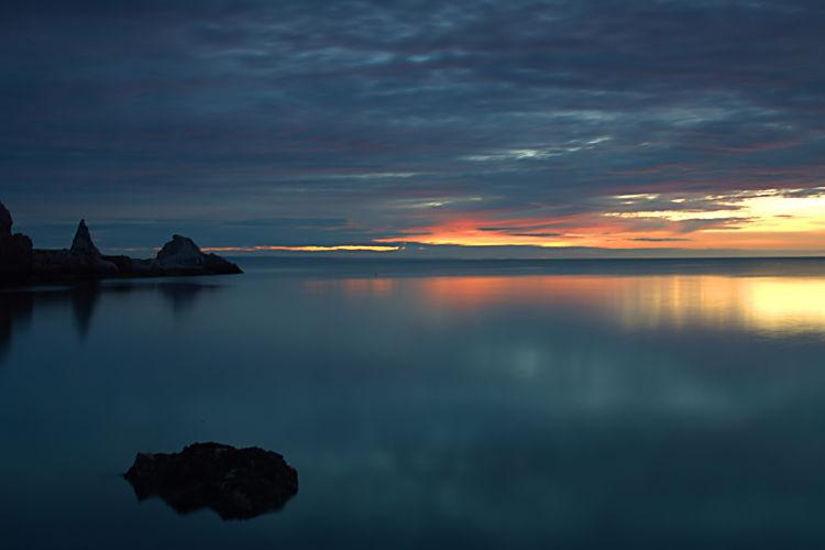 Sunrise at Ansteys Cove