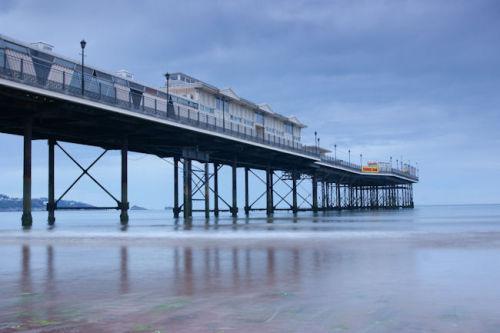 Paignton Pier reflections1