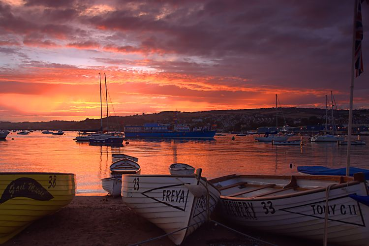 Teignmouth sunset 2