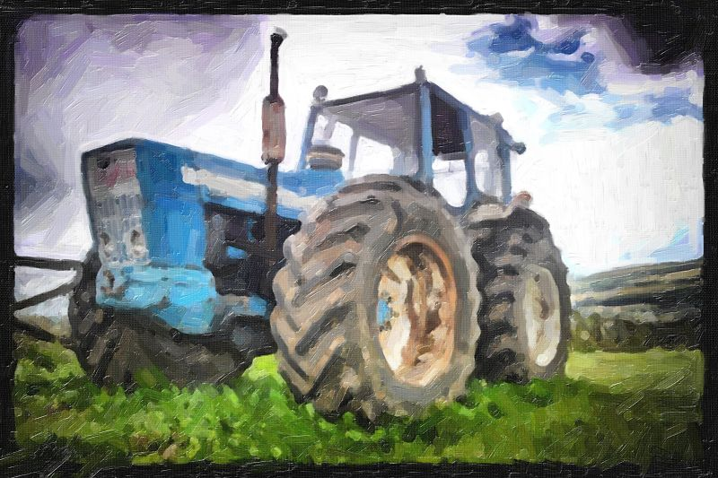 Ford tractor