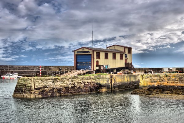 St Abbs Life Boat Station