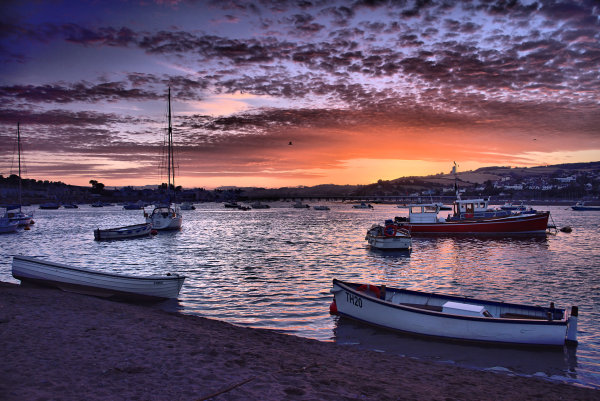 Teignmouth sunset 3 p0023