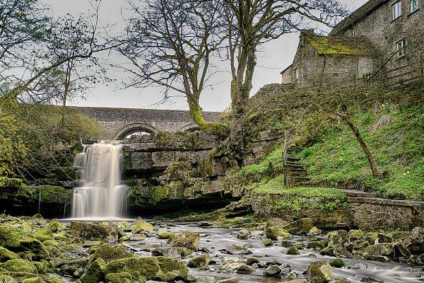 Cowshill Waterfall