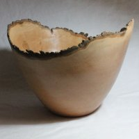 140901 Perry Pear Natural Edge Bowl